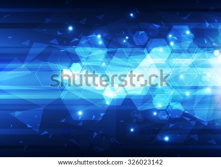 abstract vector technology