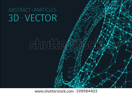 abstract vector tunnel