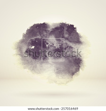 abstract vector watercolor