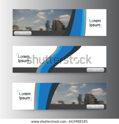 Abstract vector Web banner design background ,header Templates design. #663488185