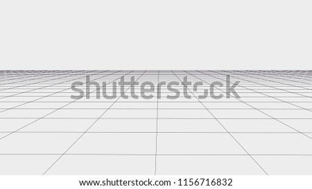 Abstract vector wireframe landscape. Abstract mesh landscapes. Polygonal mountains. Vector illustration.