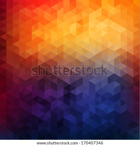 stock vector abstract vibrant mosaic background 170407346 - Каталог — Фотообои «3D Текстуры»