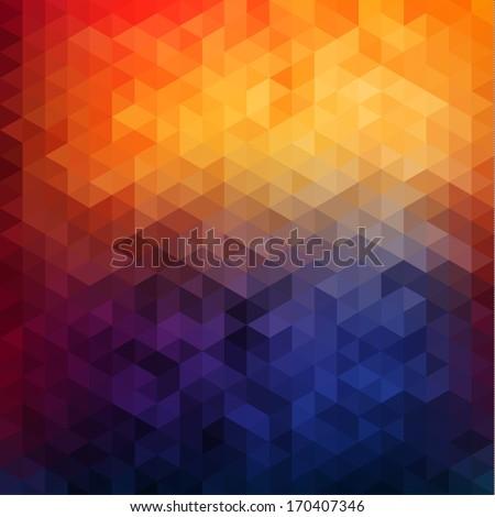 abstract vibrant mosaic