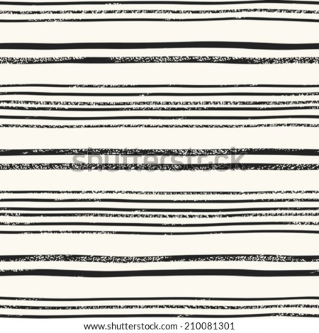 Abstract vintage noisy textured striped background. Seamless pattern. Vector.