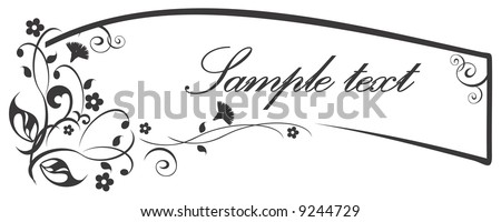 Abstract vintage vector for design