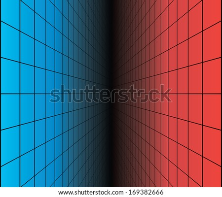 Abstract virtual space vector background. #169382666