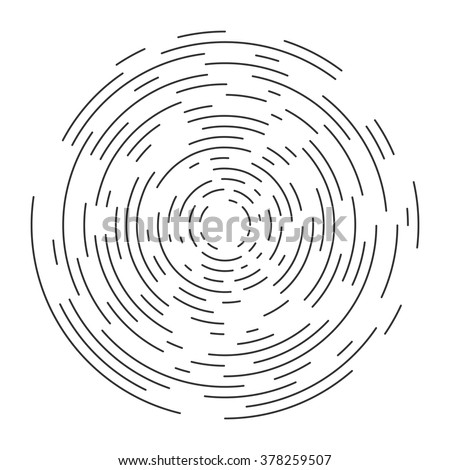 Abstract vortex circular line background. Vector illustration for design your website and print
