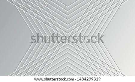 abstract warped diagonal