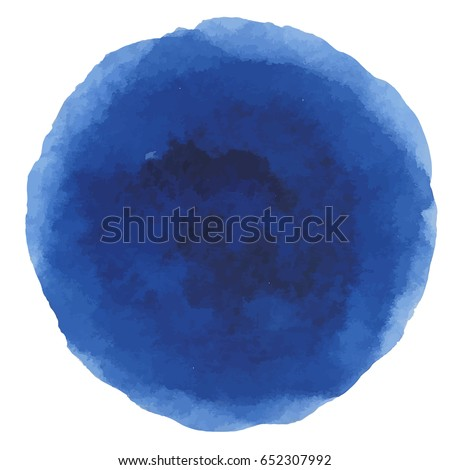 abstract watercolor dark blue