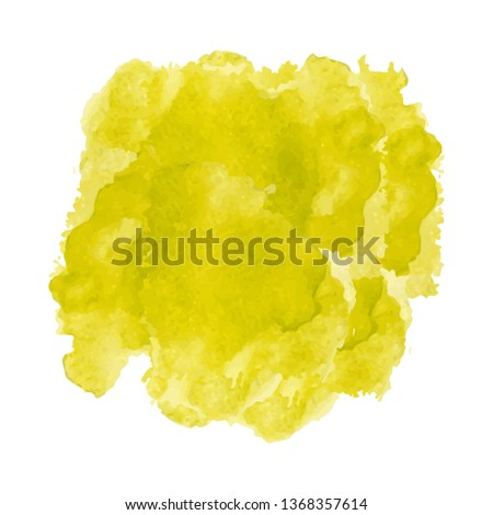 Abstract watercolor Splashes on white background #1368357614