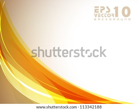 Abstract wave background. EPS 10.