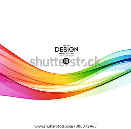 abstract wave vector background