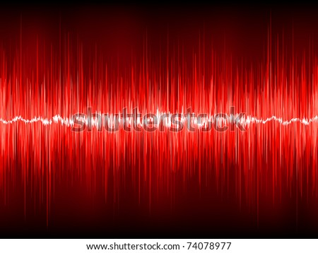 Abstract waveform background. EPS 8 vector file included