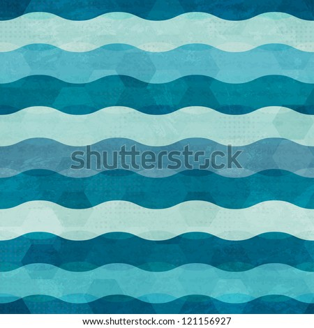 abstract waves seamless
