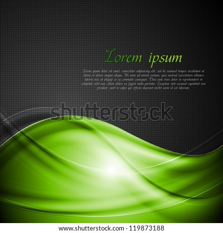 Abstract wavy background. Vector illustration eps 10