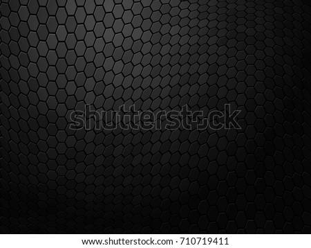 abstract wavy black texture