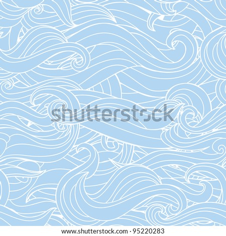 abstract wavy seamless texture