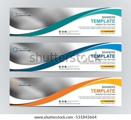 abstract web banner design
