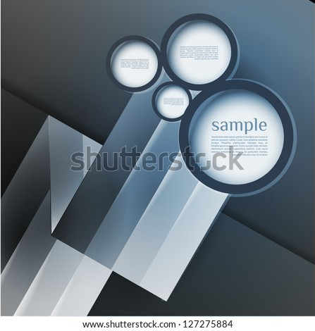 Abstract web design bubble, line abstract background, can be used for website,number banner