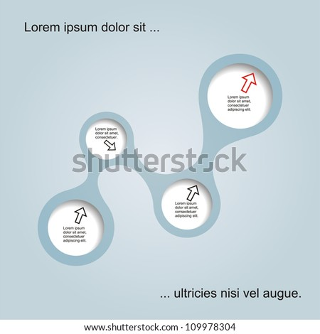 Abstract web design. Vector illustration