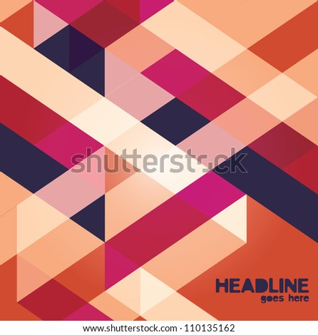 Abstract web design vector wallp aper background