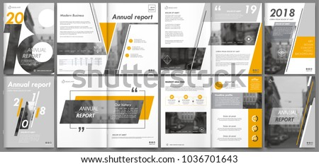 Abstract white a4 brochure cover design. Fancy info banner frame. Modern ad flyer text. Annual report binder. Title sheet model set. Fancy vector front page. City font blurb art. Yellow line figure