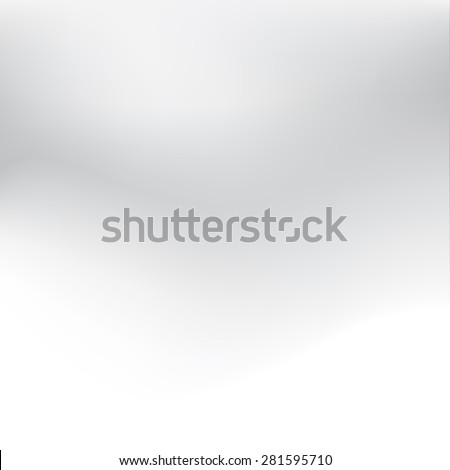 Abstract white and gray background subtle chrome texture