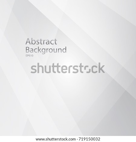 Abstract white and gray Background.Technology modern , for Business card,Web design,and other, with space for design, text input,vector illustration. #719150032