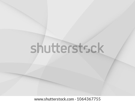 Abstract White and gray color technology modern background design vector Illustration #1064367755