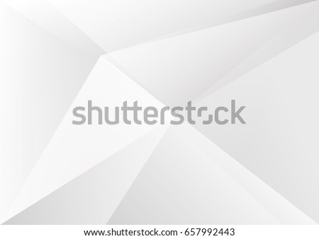 Abstract White and gray color technology modern background design vector Illustration #657992443