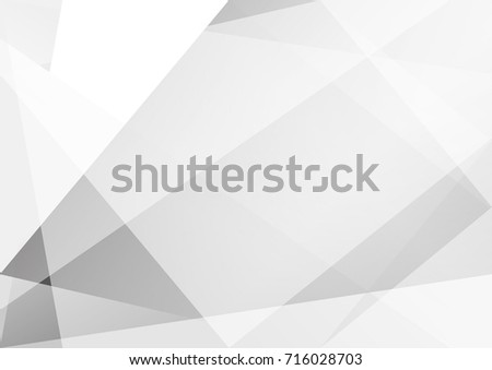 Abstract white and gray color technology modern background design vector Illustration #716028703
