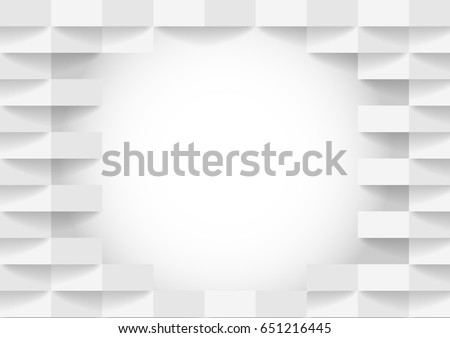 abstract white and gray tone