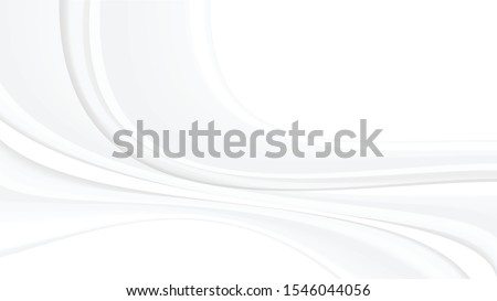 Abstract white and grey background. Subtle abstract background, blurred patterns. Light pale vector background. Abstract pale geometric pattern. ストックフォト ©
