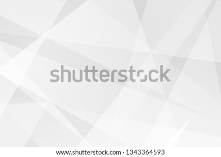 Abstract white and grey on light silver background modern design. Vector illustration EPS 10. #1343364593