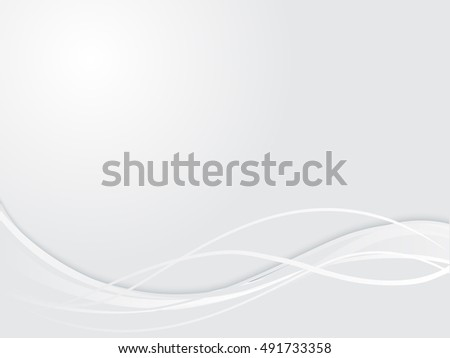 abstract white background with waves vector illustration eps 10