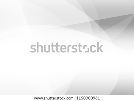 Abstract white black gray color lines background. corporate technology modern design. pattern geometric style. vector Illustration. #1150900961