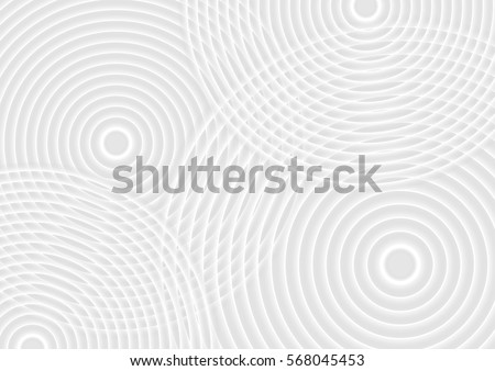 abstract white circles
