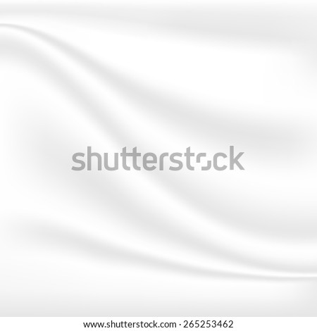 Abstract white cloth vector blur background