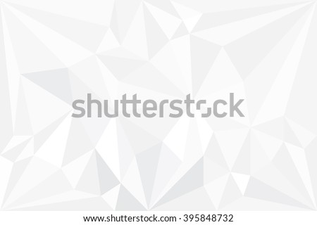 Abstract white gray Polygon for background