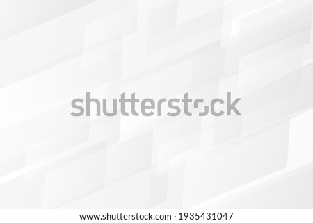 Abstract white, gray vector background with semi-transparent gradient rectangles