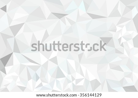 Abstract white Polygon for background
