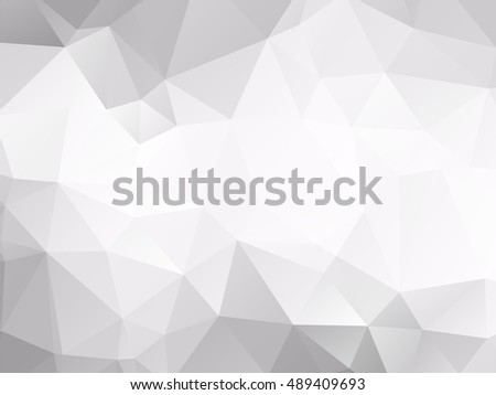 abstract white polygonal pattern