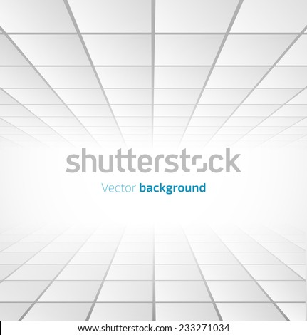 abstract white tiled background