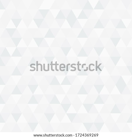 Abstract white triangle vector background