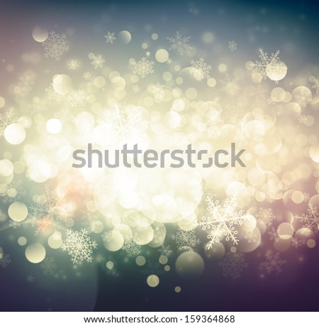 abstract winter background  eps