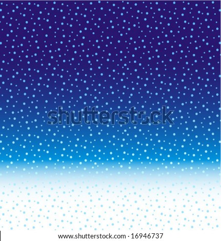 Abstract winter, Christmas or New Year falling snow background