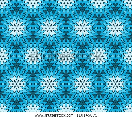 abstract winter vintage geometric wallpaper pattern seamless background. Vector illustration