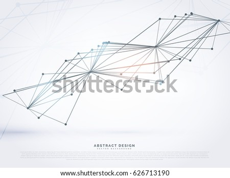 Abstract Wire Mesh Made With Lines Digital Background