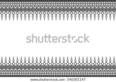 Abstract with line black for texture seamless pattern #546301147