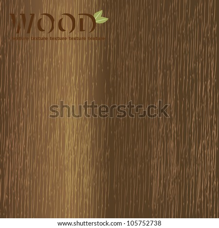 Abstract wood texture - stock vector